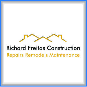 This is Richard Freitas Construction Sponsor Logo square.