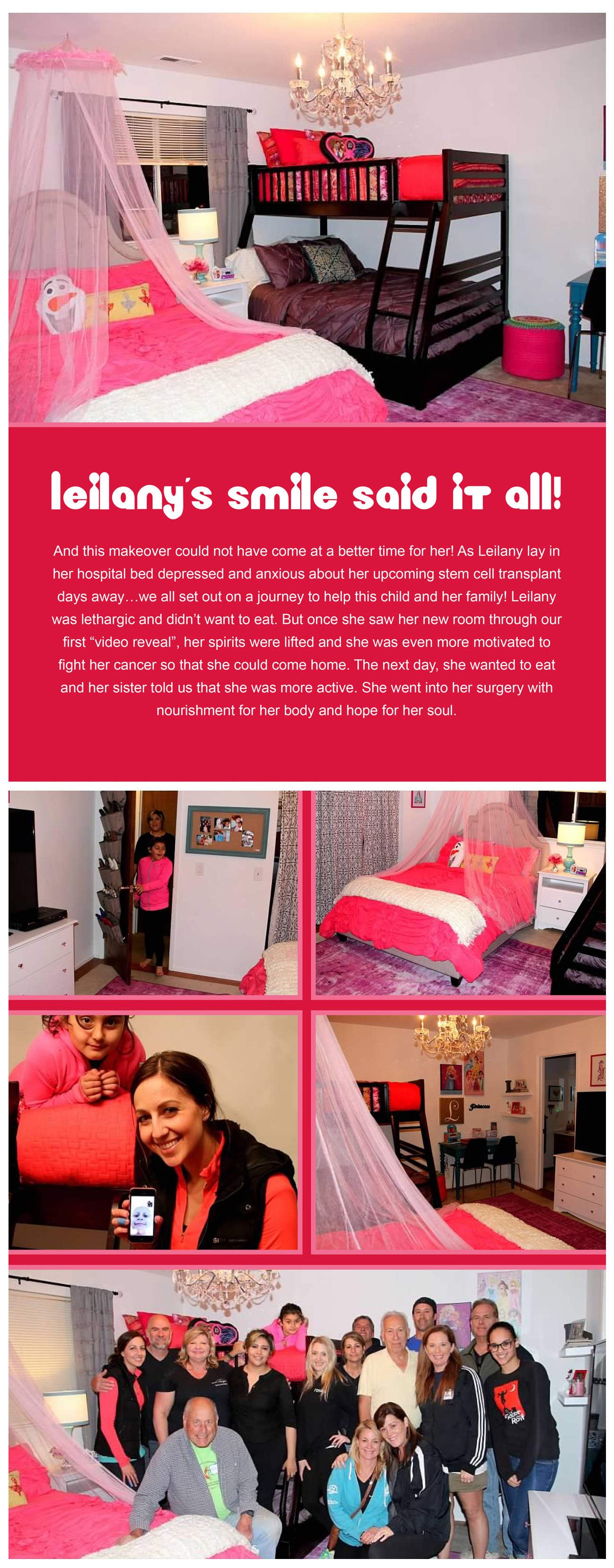 leilany s room revealed rooms of hope