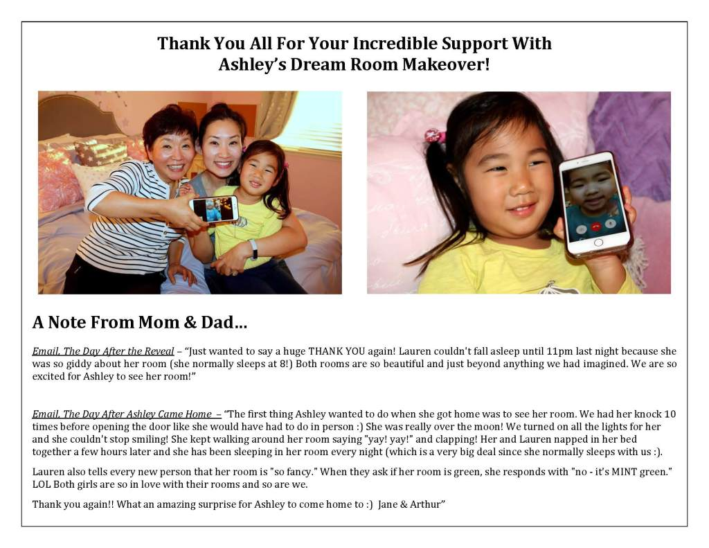 Thank you for your support of Ashley's Dream Room Makeover_Page_01