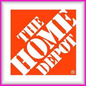 The Home Depot sponsor square.