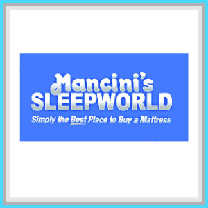 This is Mancini Sleepworld Sponsor square.
