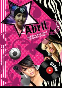 This is Abril's postcard.