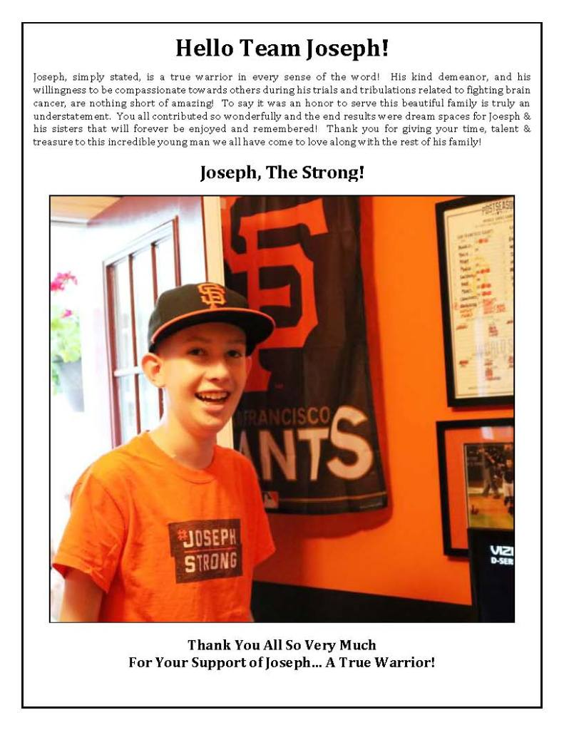 Thank you for your support of Joseph's Dream Room Makeover_Page_01