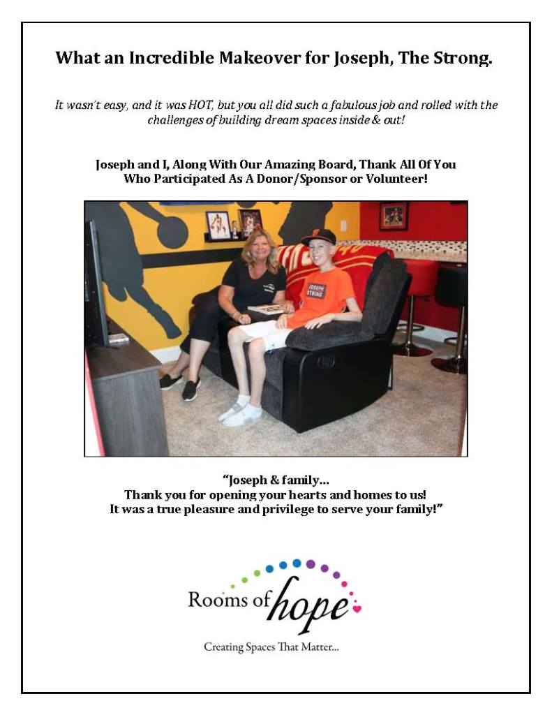 Thank you for your support of Joseph's Dream Room Makeover_Page_14